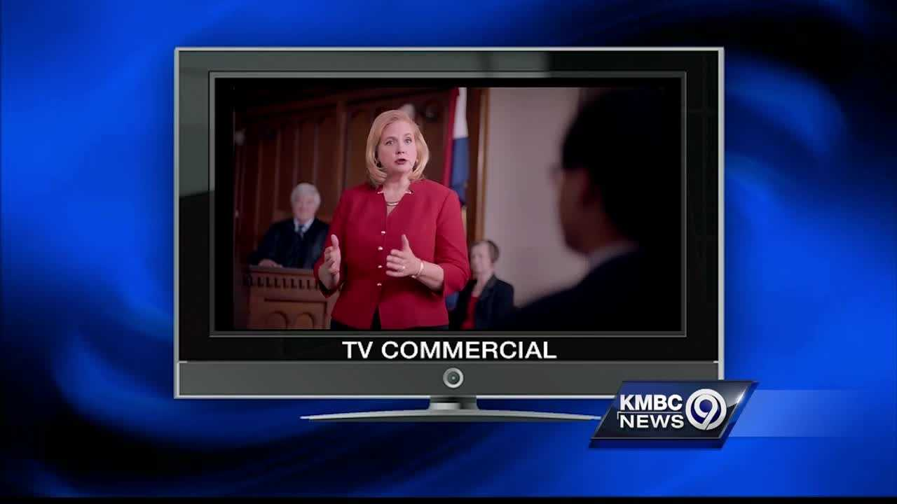Republican Catherine Hanaway is making law and order a key issue of her campaign for governor and the big issue of her latest political commercial.