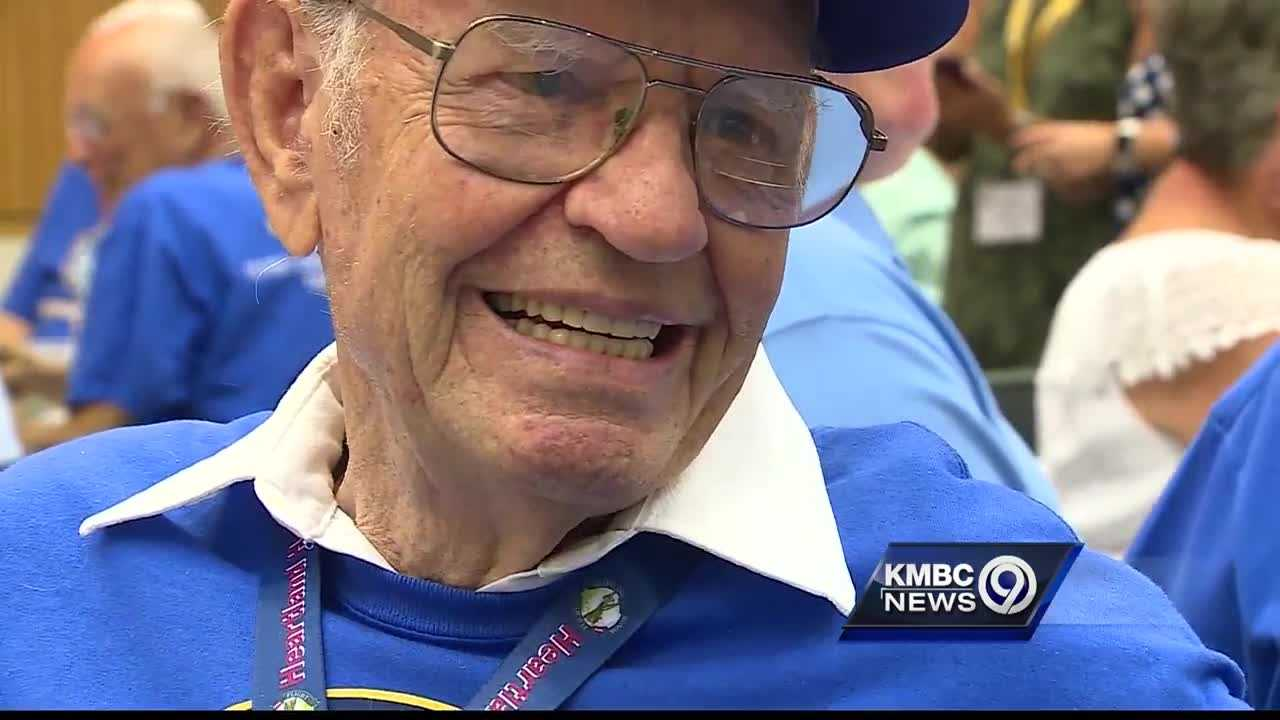Veterans who took a May trip to Washington, D.C., through Heartland Honor Flight reunited Tuesday to commemorate the experience.