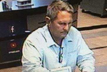 Arvest Bank at 207 S. Memorial Dr. in Tulsa, Oklahoma, was robbed at 11:30 on June 18.