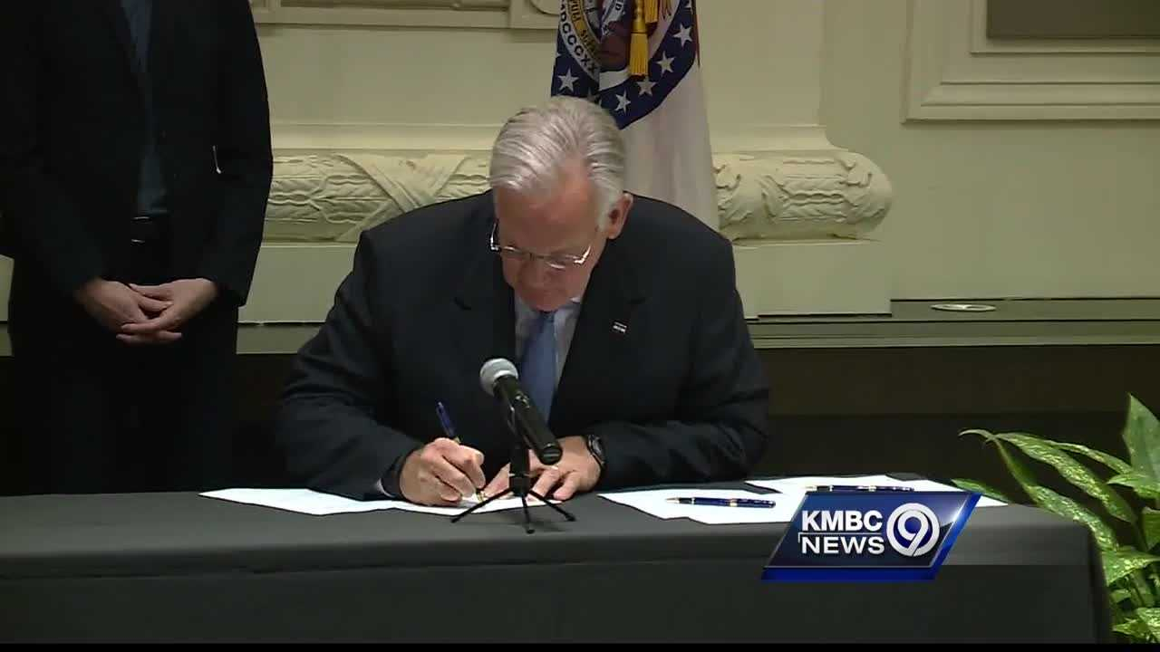 Missouri Gov. Jay Nixon signed two bills into law Wednesday that aim to help taxpayers understand where some of their money is going.