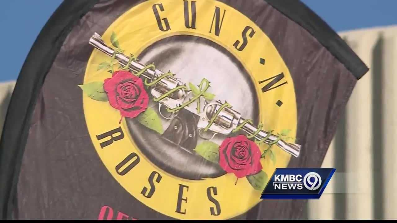 After two decades of separation, Guns N' Roses is back together and performing in Kansas City -- and the fans couldn't be happier.
