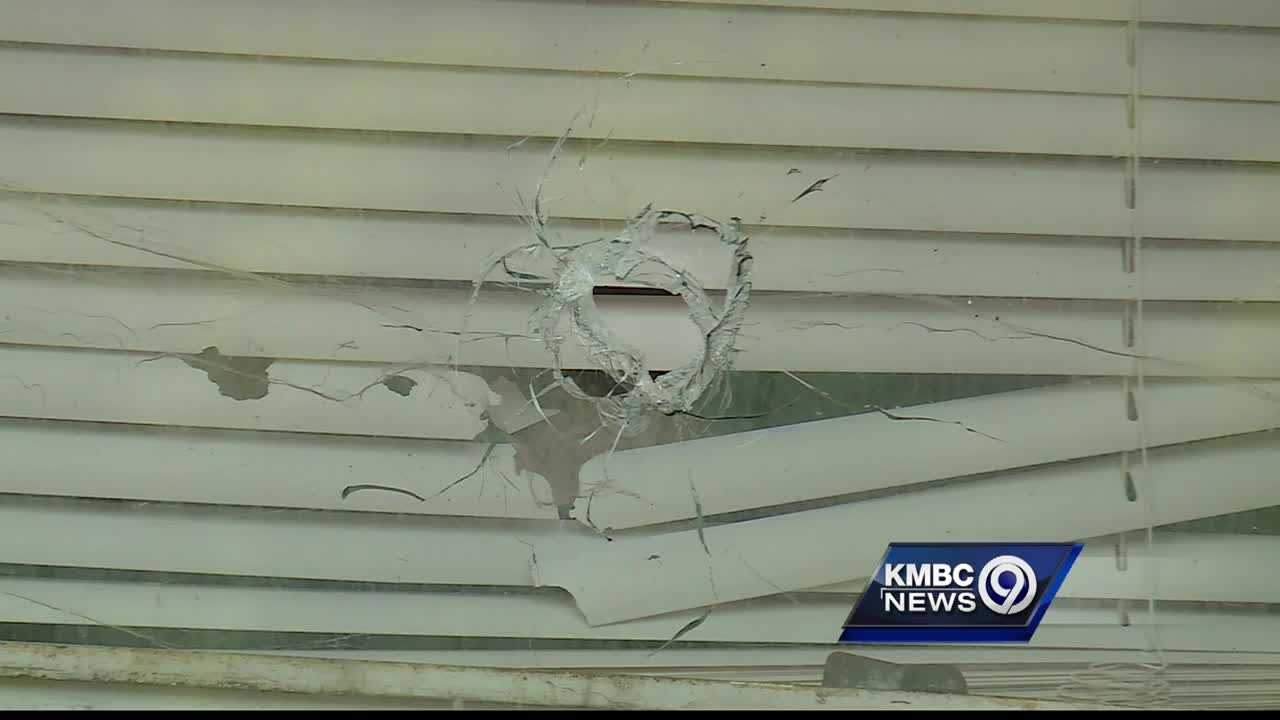 A Kansas City father is angry and frustrated after gunfire late Wednesday hit his young daughter's bedroom window.