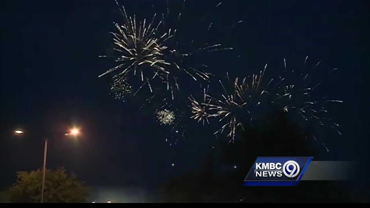 With heavy rain expected throughout much of the Fourth of July weekend, people organizing public fireworks displays said they're keeping their eyes on the weather