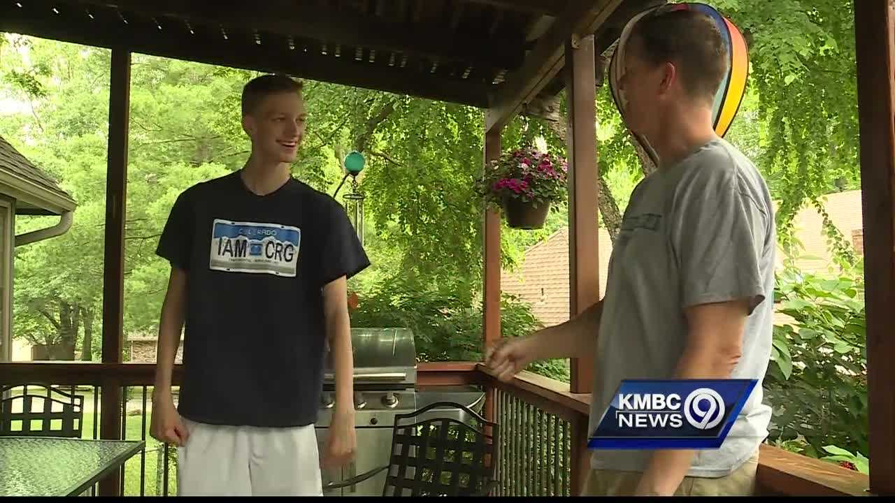 A Staley High School student is celebrating the Fourth of July at home while rehabilitating from a crash in January that left him partially paralyzed.