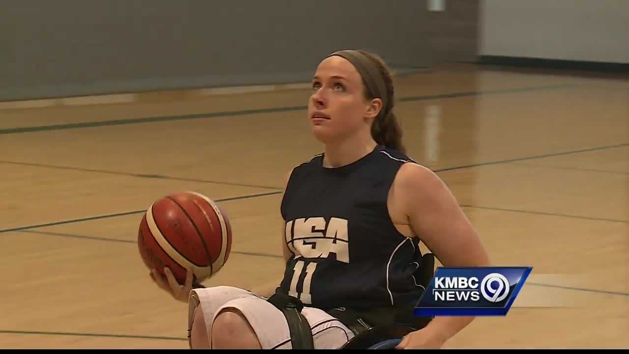 A wheelchair basketball player from Kearney is heading to the Paralympics in Rio later this summer.