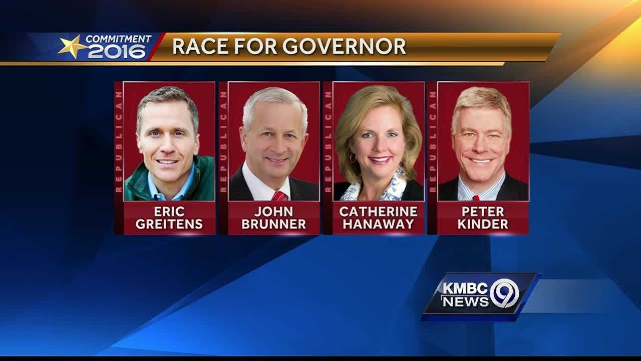 A new poll in the Missouri governor's race shows Republican Eric Greitens with a lead over his GOP rivals.