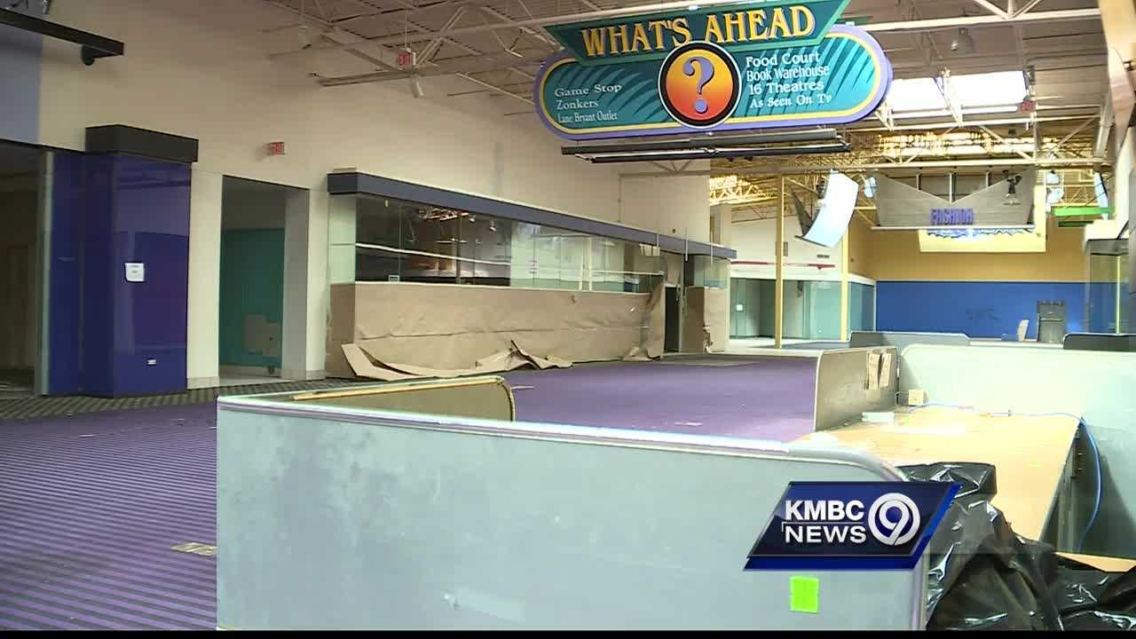 A shopping center that opened 20 years ago to great fanfare and high hopes is starting to be torn down.