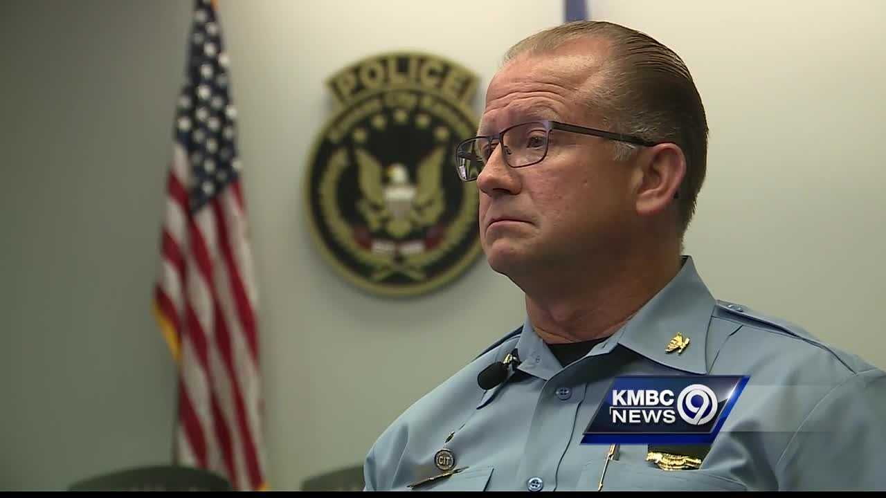 Kansas City, Kansas, Police Chief Terry Zeigler said being a police officer is a tough enough job without having to worry about an ambush like the one that killed five officers in Dallas last weekend.