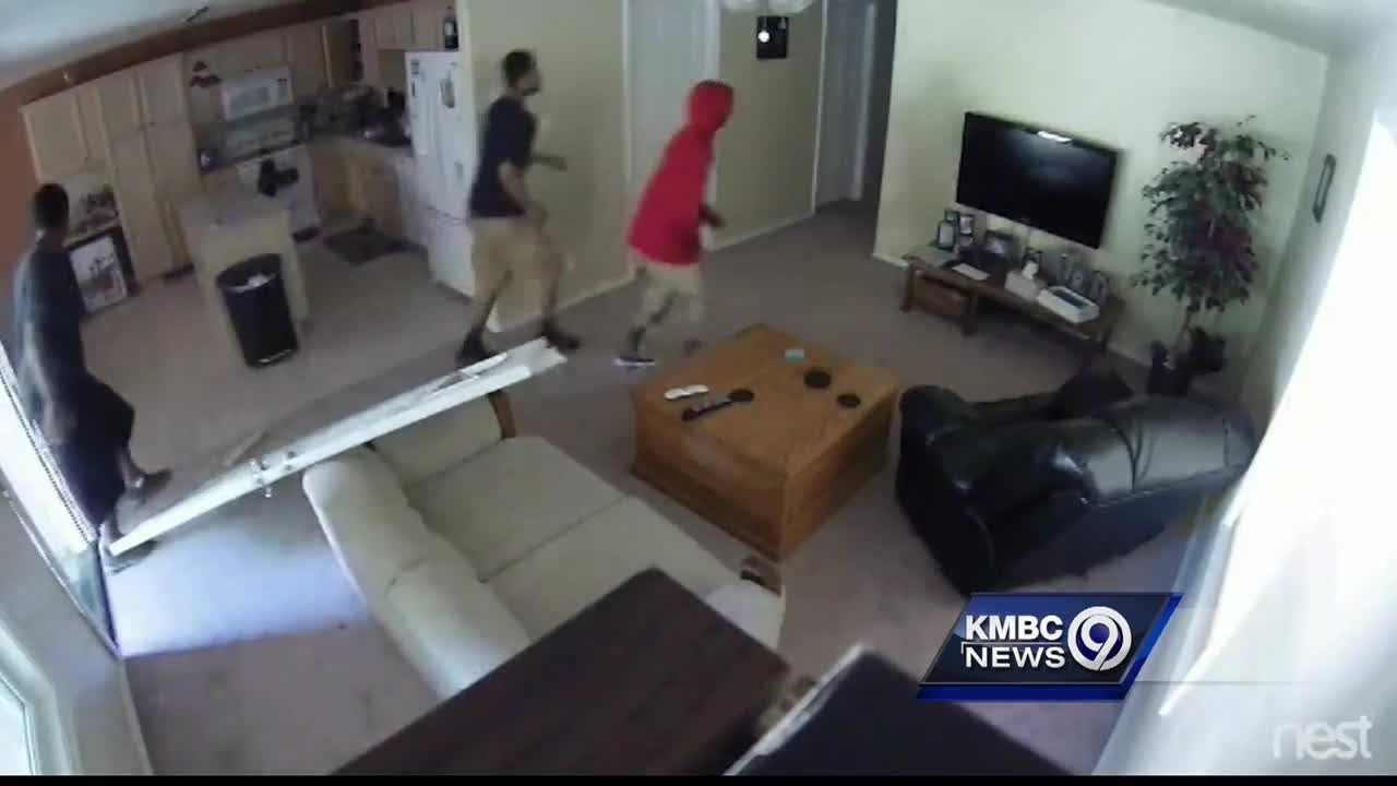 When a recent burglary at his home was caught on surveillance cameras, a Kansas City area man took additional steps to protect his security.