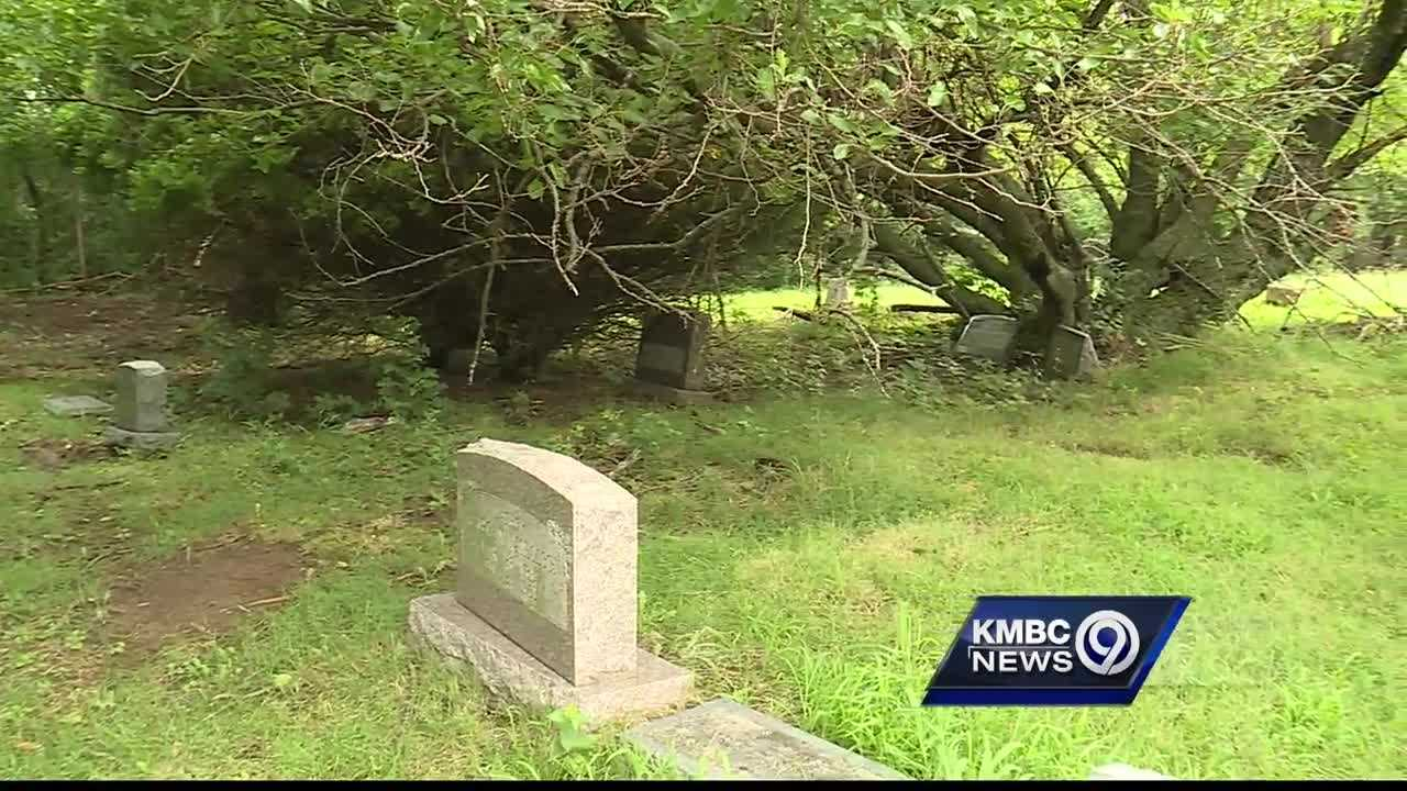 A Kansas City woman says a cemetery in the area is disrespecting the dead.