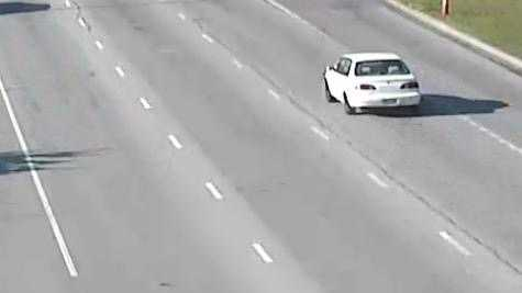 This is a picture of the vehicle taken in an Overland Park carjacking Friday morning in West 106th Street as it headed east on I-435 from Metcalf Avenue.