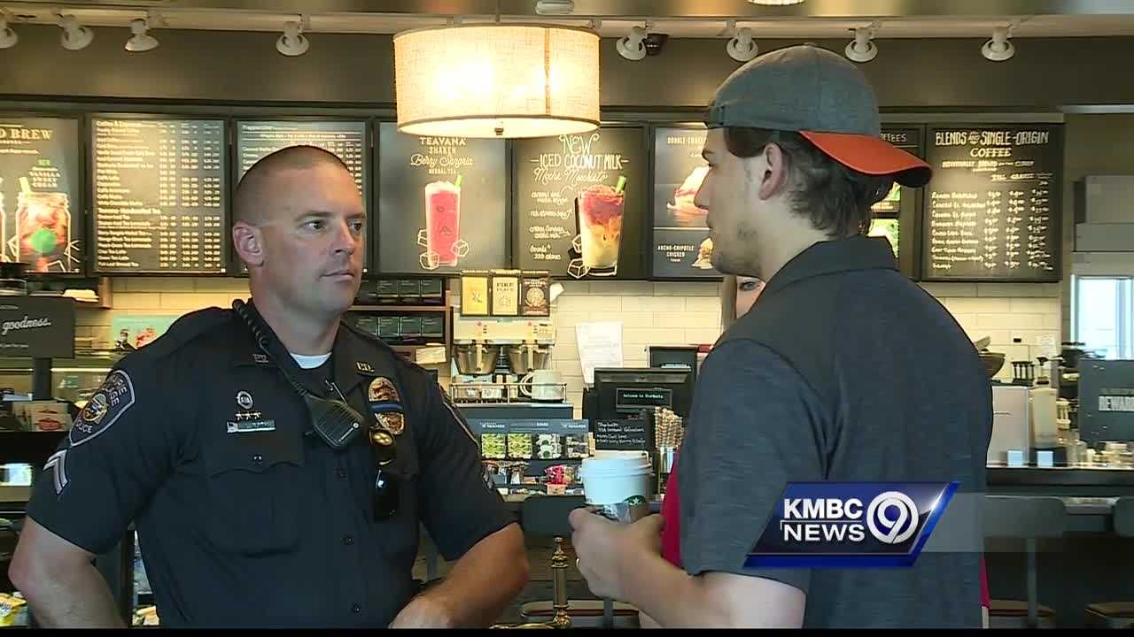 Coffee with a Cop events are helping residents reconnect with police in Prairie Village, Kansas