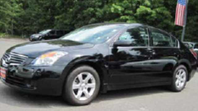 Police said they're looking for a black Nissan Altima similar to this one that was involved in a fatal hit-and-run crash on July 17.