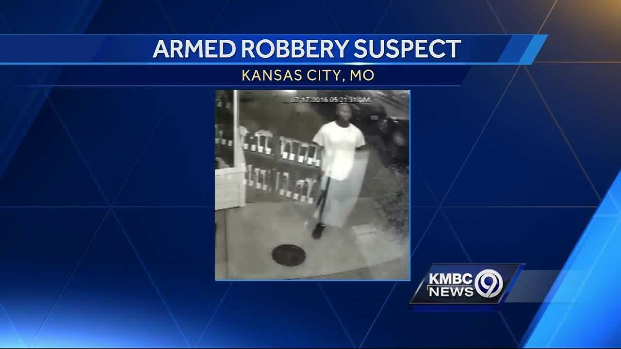 Kansas City police asked the public for help identifying an armed robbery suspect they think is responsible for seven robberies in 12 days.