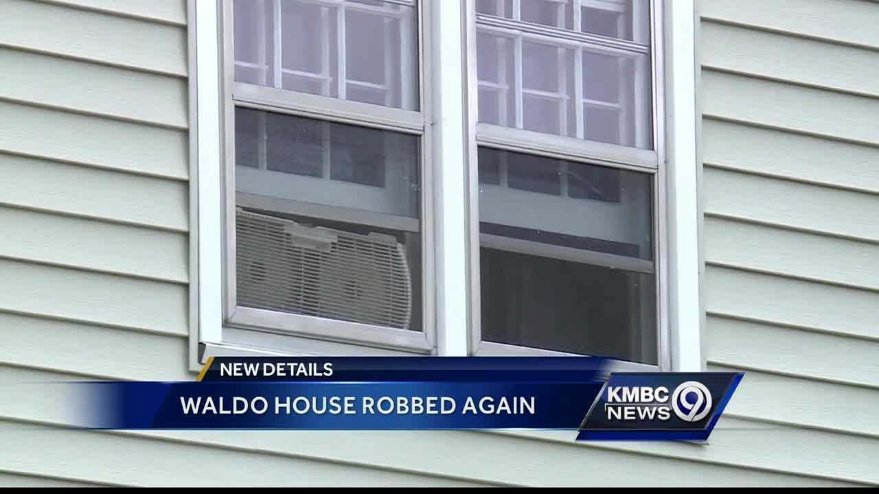 A resident of Kansas City's Waldo neighborhood, who was the victim of a burglary, has been burglarized again.