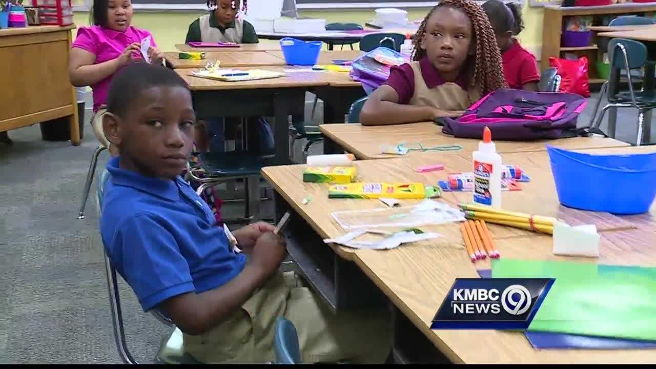 Classes began Tuesday for students at Kansas City's newest charter school.