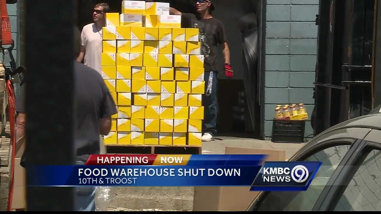 A surprise inspection by the USDA shuts down the City Mission Union warehouse due to several violations.