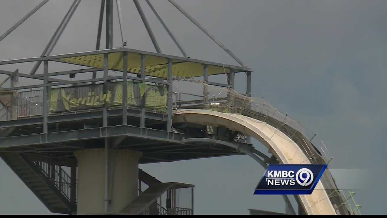 A woman who rode the Verruckt water attraction a month before Sunday's fatal incident says the ride didn't feel safe.