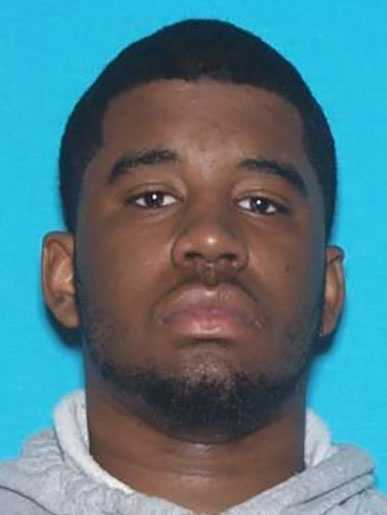 Deon Merritt, 19, is wanted in Jackson County, Missouri, on a charge of robbery.He is black, 5 feet 8 inches tall, 215 pounds and has black hair and brown eyes.His last known address was in Grandview, Missouri.Police said Merritt should be considered dangerous.