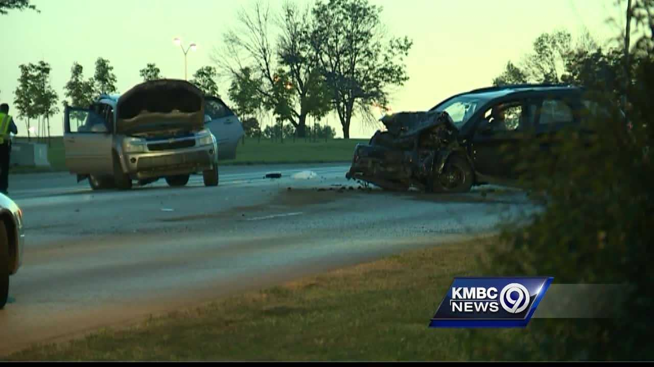 Police said one person is dead and a driver is in custody after a crash in Kansas City, Kansas, Monday evening.
