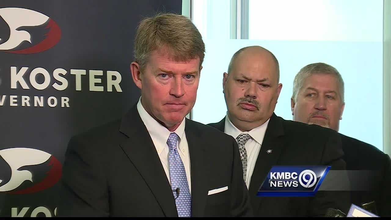 Democratic candidate for Missouri governor, Chris Koster, said people who shoot at police are domestic terrorists.