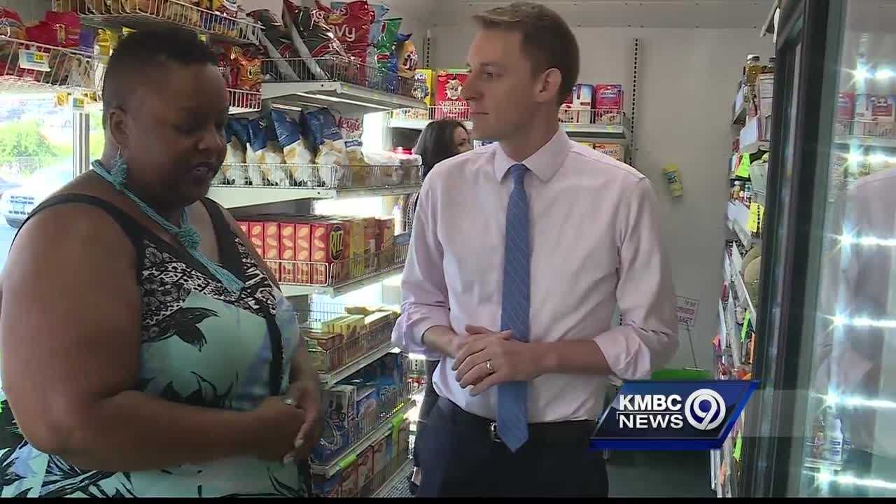 A candidate in the race for Missouri's U.S. Senate seat is turning his attention to the issue of food deserts.
