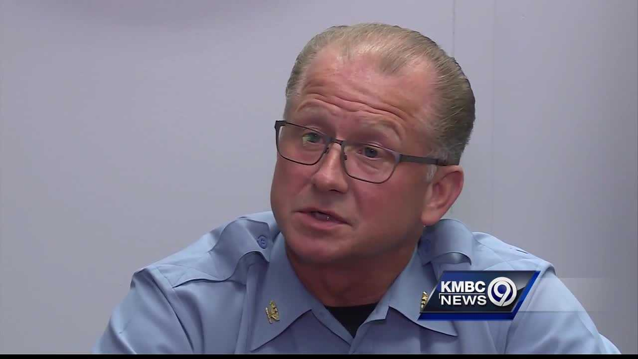 Kansas City, Kansas, police Chief Terry Zeigler said the department's decision to leave Tuesday's tense standoff with a self-proclaimed sovereign citizen without making an arrest was the right call in a no-win situation.