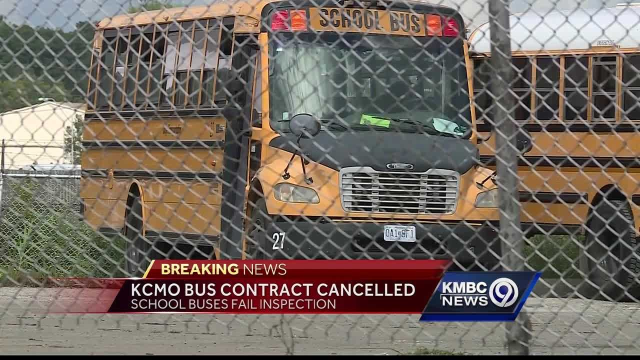 Kansas City Public Schools terminated their contract with Daye Transportation late Friday afternoon after the company's buses failed surprise inspections.