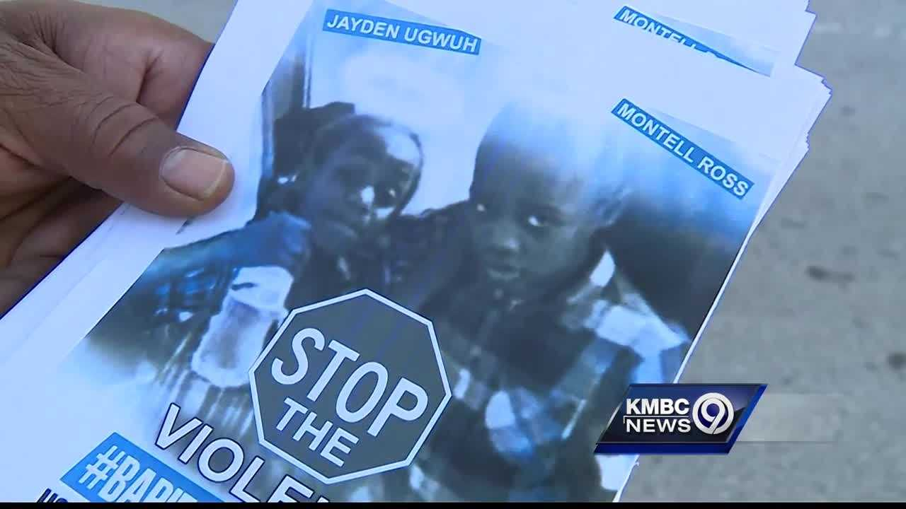 A group of Kansas City men start movement, #BabiesLivesMatter, in hopes to catch shooting suspects after 2 young boys were killed last weekend.