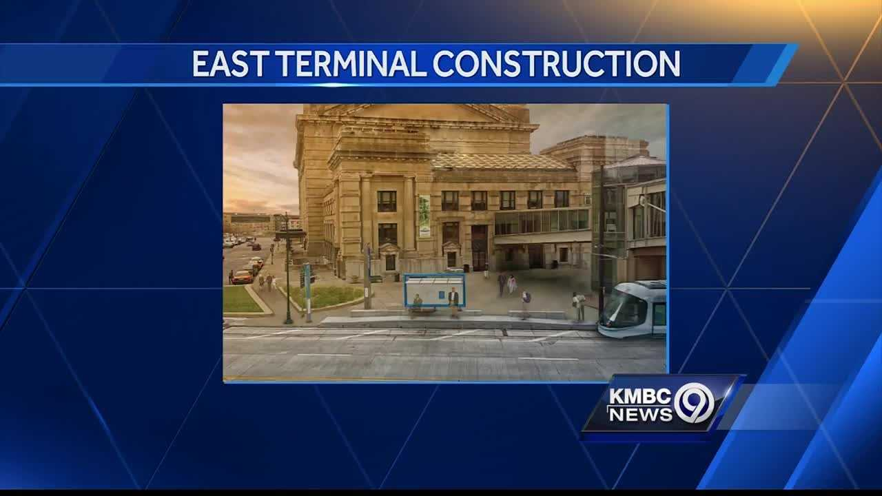 The east side of Union Station is getting a new look.