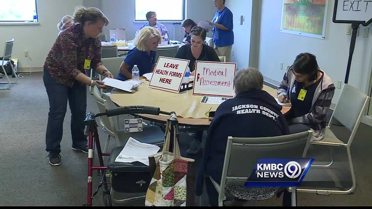 An earthquake drill in Jackson County worked to get people ready for a quake along southeast Missouri's New Madrid Fault, one of the biggest in the United States.
