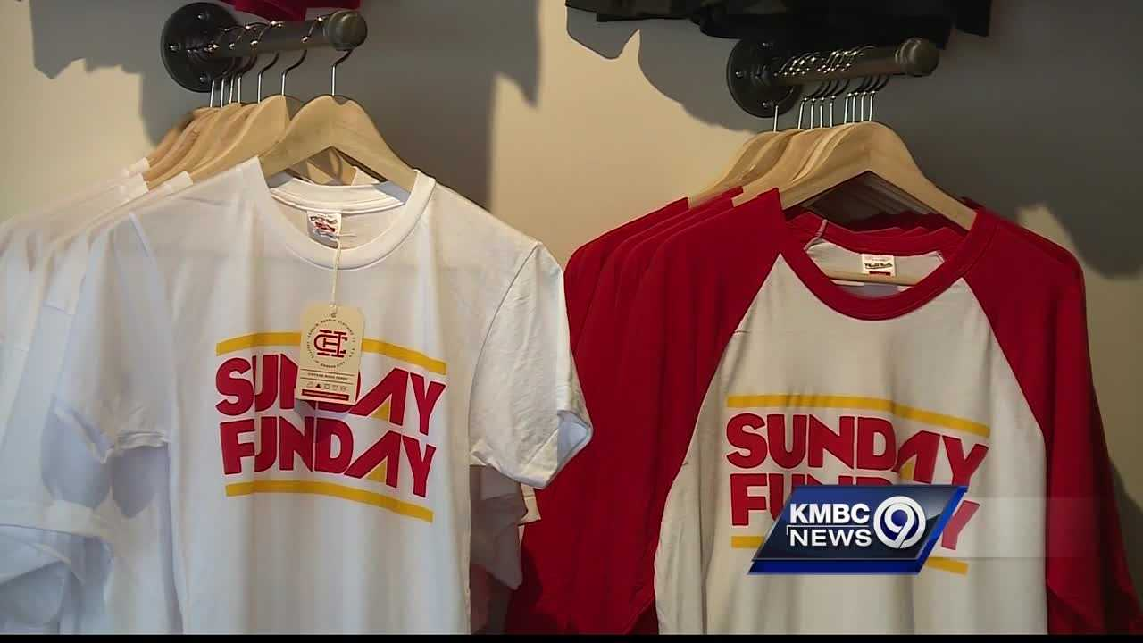 A Kansas City T-shirt company has quickly grown popular, catching the attention of sports fans and celebrities alike.