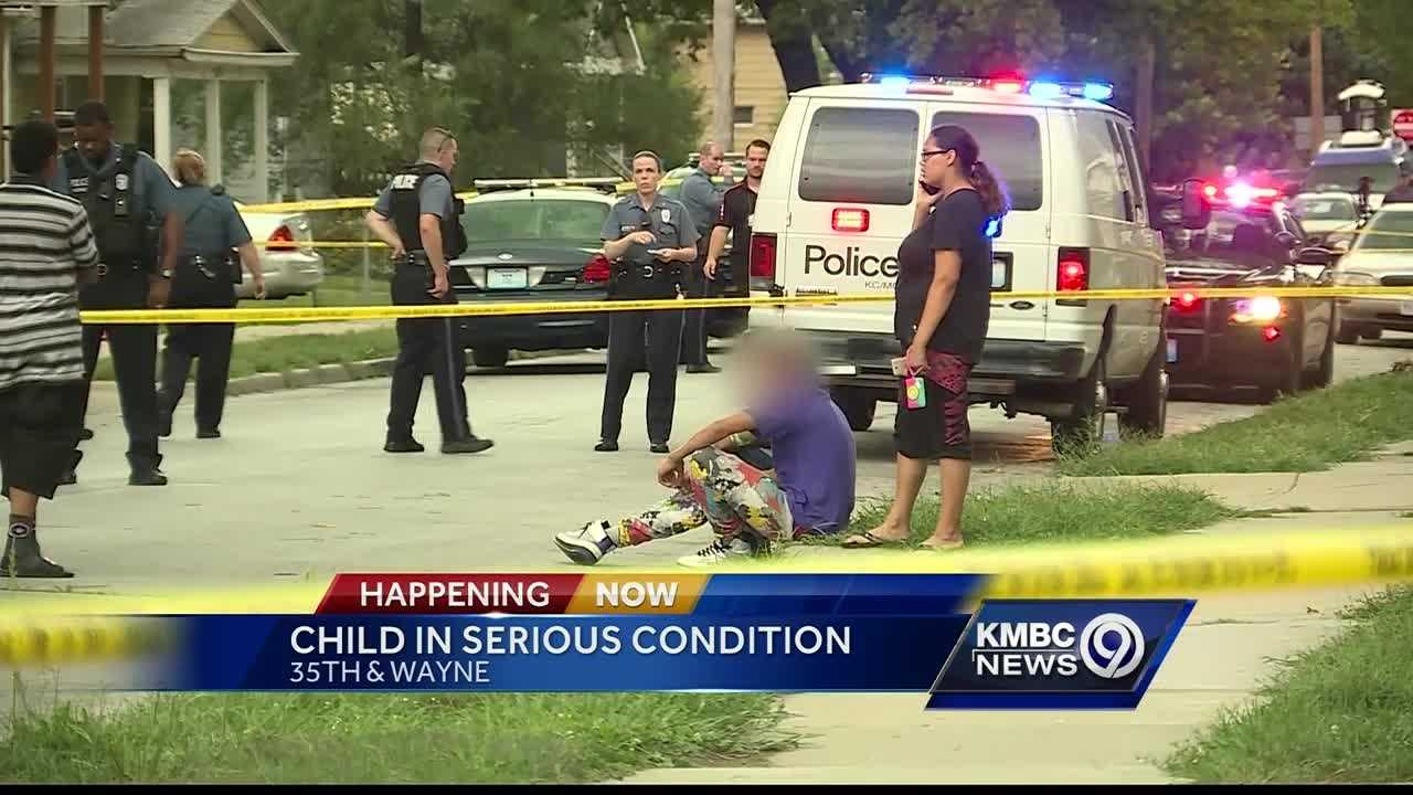 Kansas City police said they're investigating a shooting that injured a 12-year-old boy.
