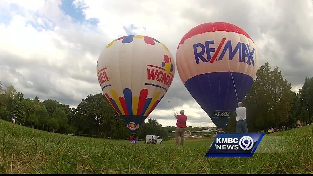 Organizers are preparing for a big hot air balloon festival in Kansas City this weekend and hoping the weather doesn't put a damper on the fun.