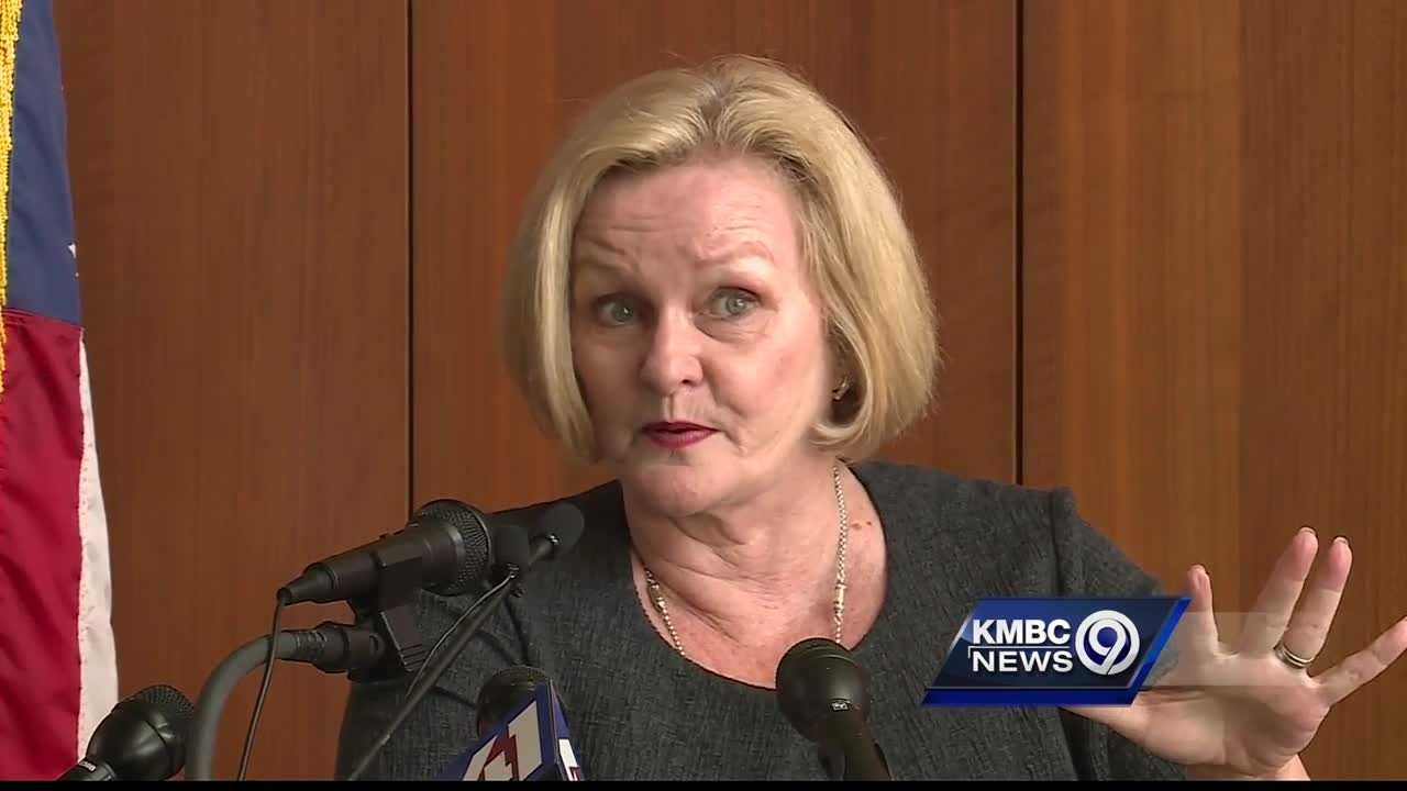 U.S. Sen. Claire McCaskill said the military gets its money's worth from its military installations in Missouri.