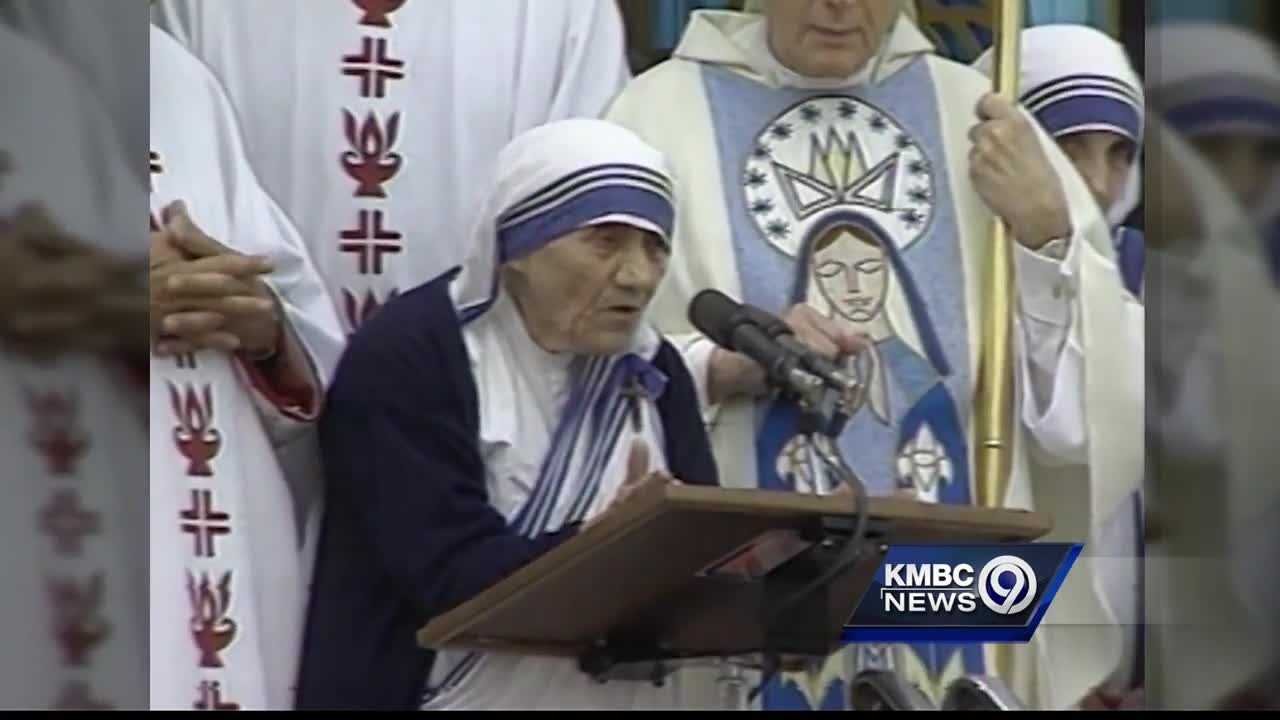 A Wyandotte County nun is telling the story of her encounter with Mother Teresa and the legacy she's working to keep alive.