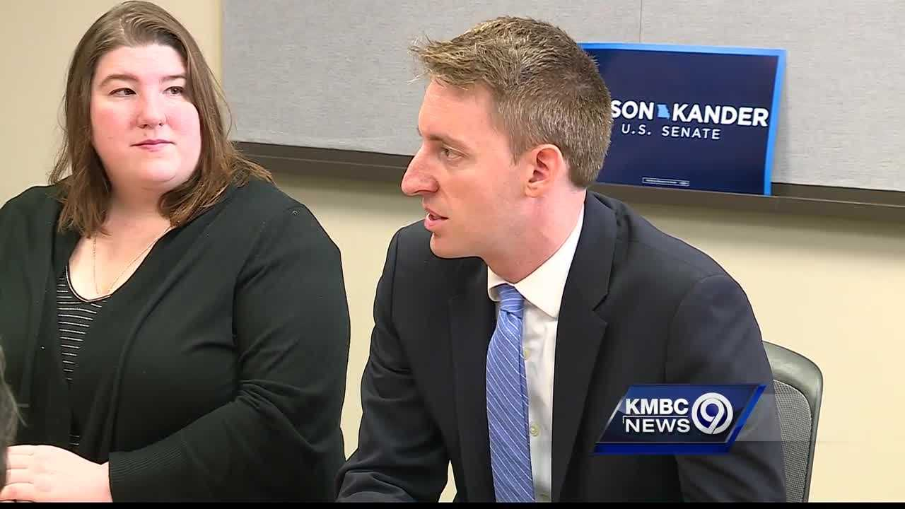 Democratic U.S. Senate candidate Jason Kander sat down with students and administrators Wednesday to discuss the high cost of college in Missouri.
