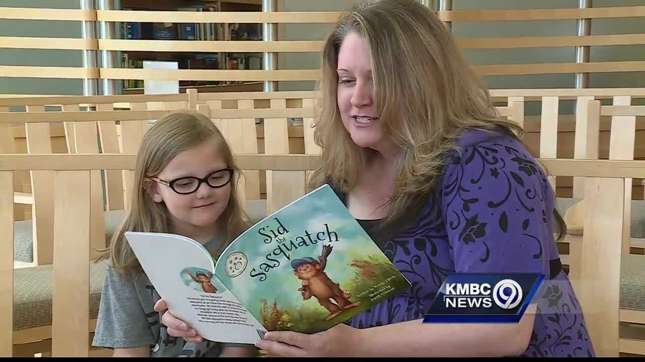 A Kansas City author is donating a portion of sales from her new book to Children's Mercy Hospital and the Juvenile Diabetes Research Foundation