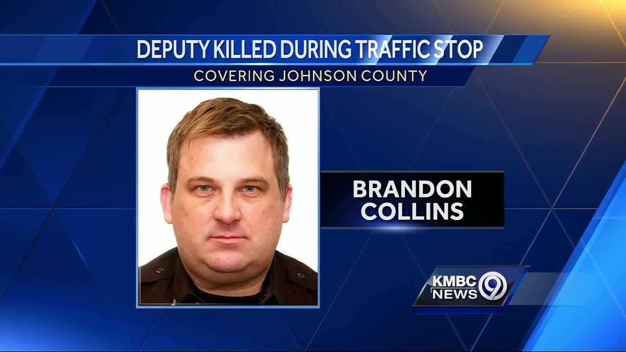 A family whose SUV had been pulled over for a broken headlight, only to witness a crash that killed a Johnson County Sheriff's deputy, said they're mourning, too.