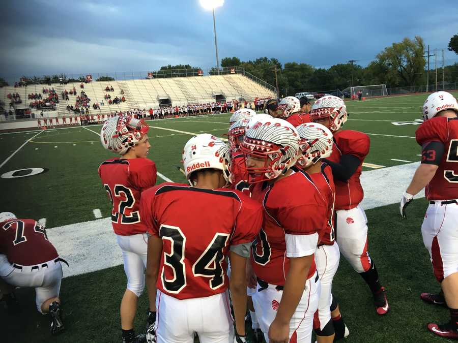 The Shawnee Mission North Indians hosted the Lansing Lions Friday night.
