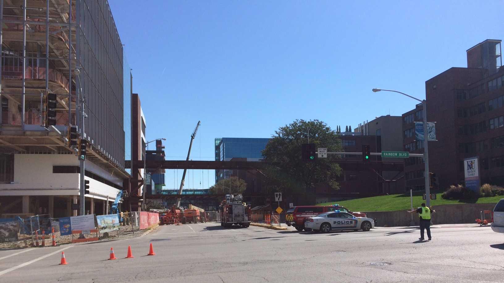 Gas line break prompts evacuation of two KU Med school ...