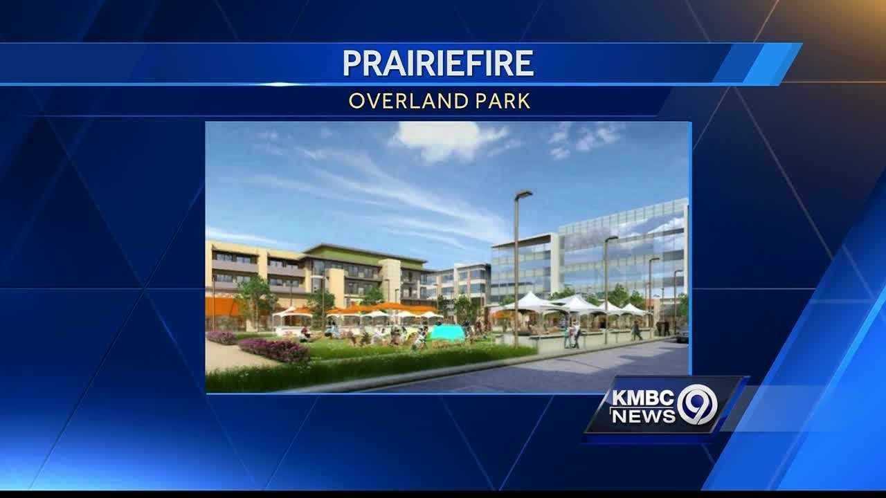 Shoppers might be paying extra to help finish the Prairiefire development in south Overland Park.