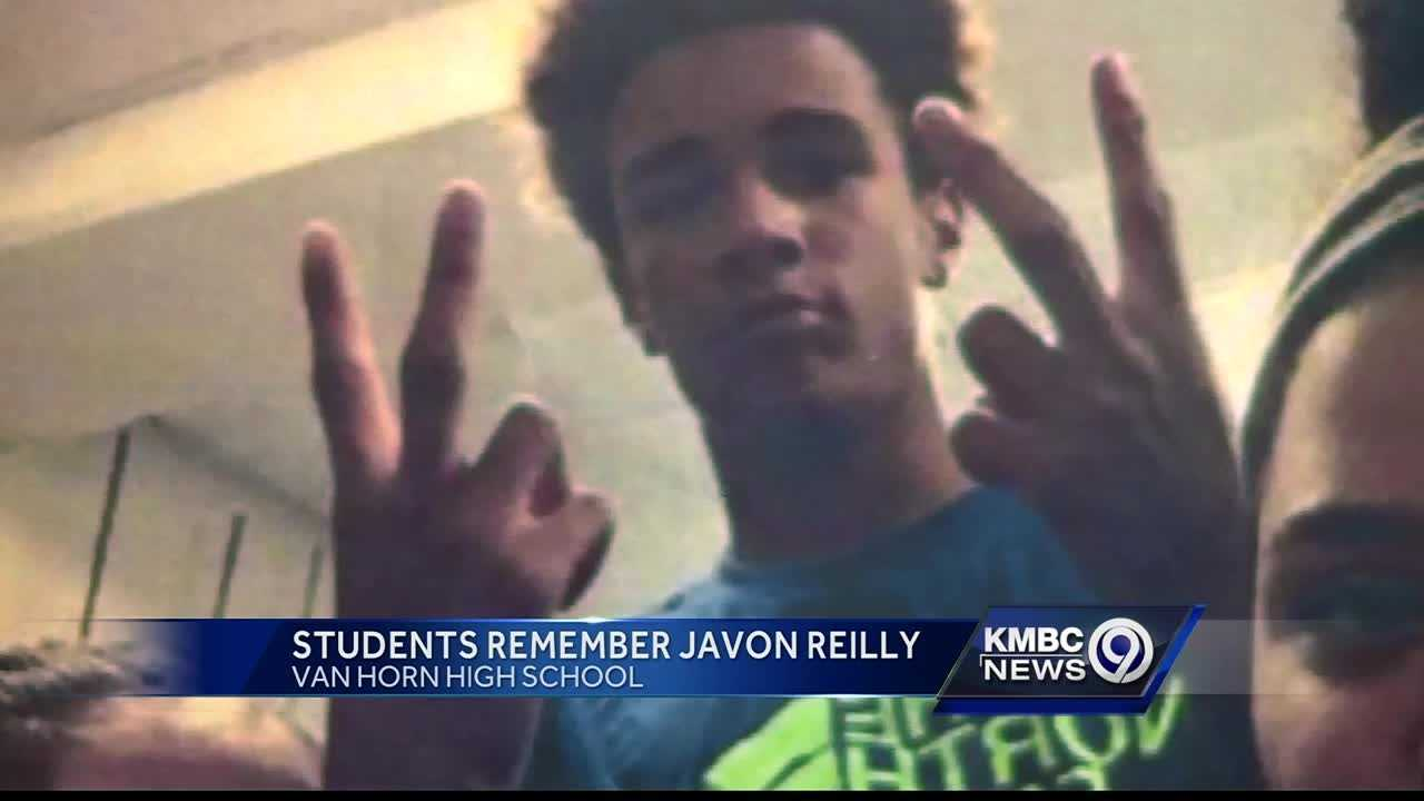 Students at Van Horn High School remembered a 16-year-old classmate who was fatally shot after school Monday.