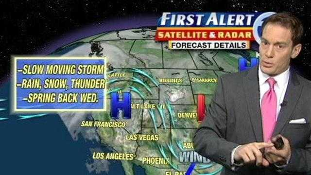 Eric Green gives you the morning forecast for April 2, 2012.