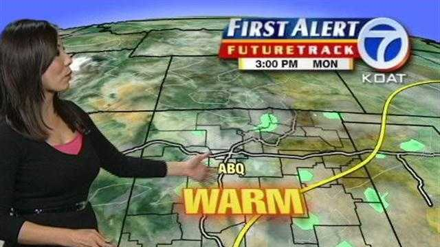 Amber Lee gives you her Monday morning forecast.