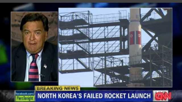 Bill Richardson speaks about North Korea's launch failure