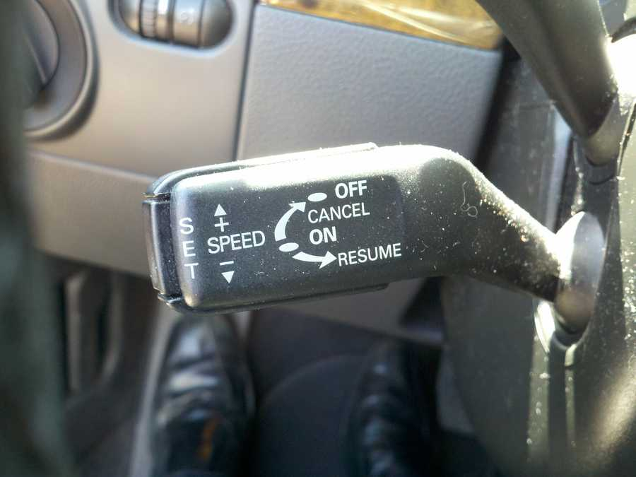 Use Cruise Control. Using cruise control on the highway can help you maintain a constant speed and, in most cases, will save gas.