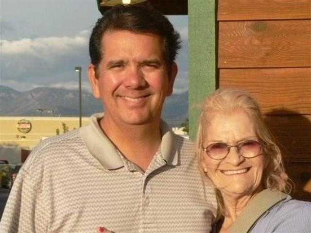 This is Joe Diaz's mother.