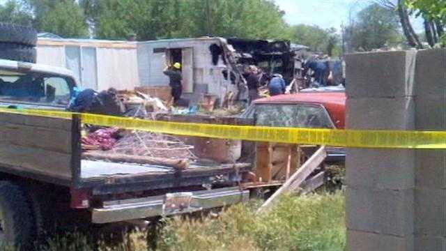 Web First: Body found by fire crews