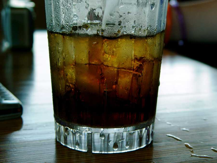 They are nothing but sugar. A 10-ounce can of soda has 10 teaspoons of sugar.